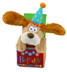 flappy birthday animated plush puppy singing