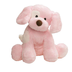 gund spunky plush puppy pink softest