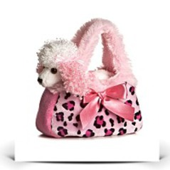 Fancy Pal Pretty Poodle Pink Pet Purse