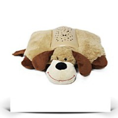 Happy Go Baby Buddy Puppy Dog Plush Pillow