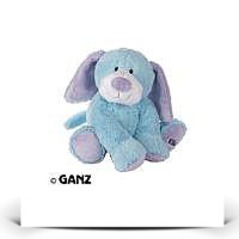 On SaleJr Plush Stuffed Animal Blue Puppy