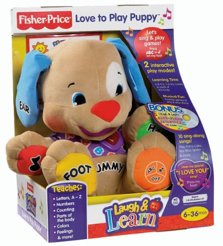 Laugh And Learn Love To Play Puppy Puppy Dolls