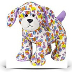 On SalePeace n Love Puppy 8 5 Plush
