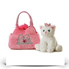 On SalePlush Fancy Pals Pet Carrier Princess