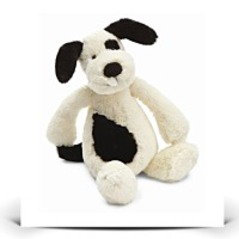 On SaleSmall Bashful Black And Cream Puppy