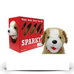 Sparky The Fabulous Flip Over Pet Dog