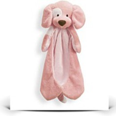 Spunky Pink Puppy Dog Huggybuddy Blanket