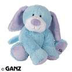webkinz plush stuffed animal blue puppy