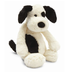 bashful black cream puppy jellycat heavily