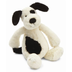 jellycat bashful black cream puppy heavily