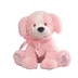 gund puppy-medium-pink everyone remembers plush faithful