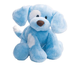 gund spunky plush puppy blue softest