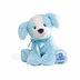 gund puppy-small- blue everyone remembers plush