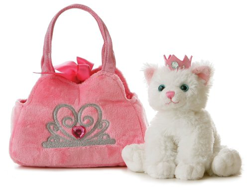 Plush Fancy Pals Pet Carrier Princess
