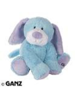 Jr Plush Stuffed Animal Blue Puppy